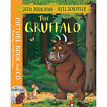 Buy Gruffalo Soft Toy and Book bundle Online at johnlewis.com
