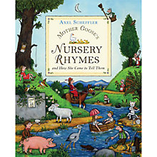 Buy Mother Goose's Nursery Rhymes and How She Came to Tell Them Book Online at johnlewis.com