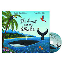 Buy The Snail and the Whale Book and CD Online at johnlewis.com