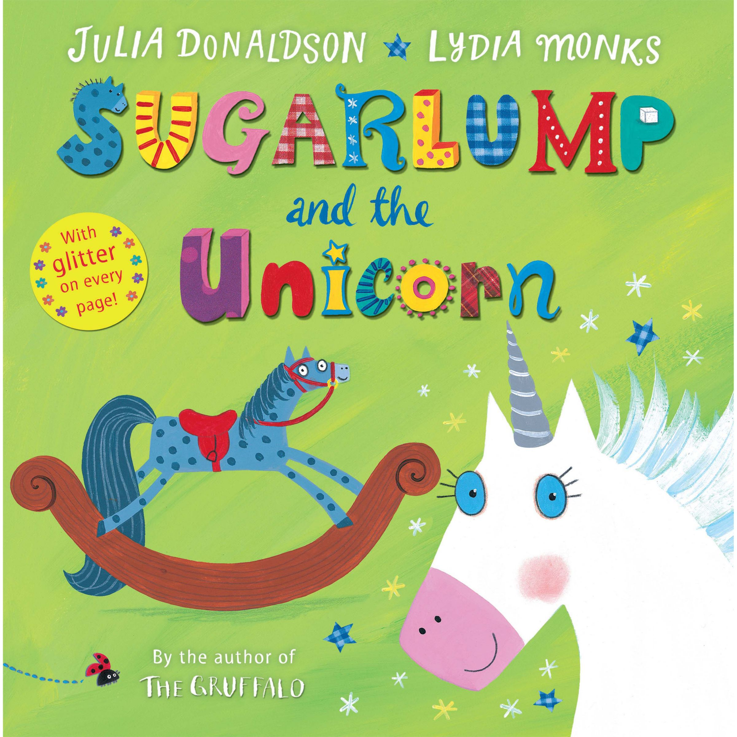 Macmillan Sugarlump and the Unicorn Book with Cut Out Rocking Horse