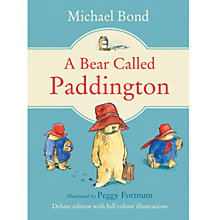 Buy A Bear Called Paddington Deluxe Edition Book Online at johnlewis.com