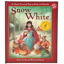 Buy Snow White Pop-Up Book With Sounds Online at johnlewis.com
