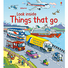 Buy Look Inside Things That Go Book Online at johnlewis.com