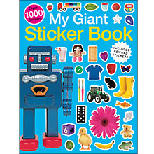 Buy My Giant Sticker Book Online at johnlewis.com