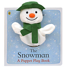 Buy The Snowman Puppet Play Book Online at johnlewis.com