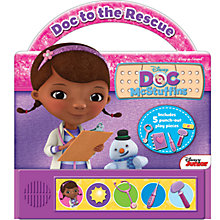 Buy Disney Doc McStuffins Little Hand Sound Book Online at johnlewis.com