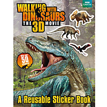 Buy Walking With Dinosaurs Sticker Book Online at johnlewis.com