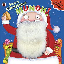 Buy Santa's Christmas Munch Hand Puppet Book Online at johnlewis.com