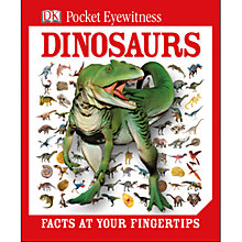 Buy Pocket Eyewitness Dinosaurs Book Online at johnlewis.com