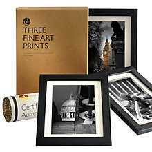 Buy Gallery One London Views Fine Art Framed Prints, Set of 3, 24 x 18cm Online at johnlewis.com