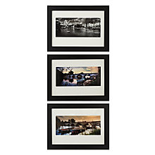 Buy Gallery One Richmond Views Fine Art Framed Prints, Set of 3, 18 x 24cm Online at johnlewis.com