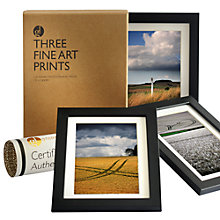Buy Gallery One Near Marlborough, Wiltshire Fine Art Framed Prints, Set of 3, 24 x 18cm Online at johnlewis.com