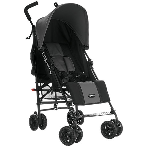 Buy OBaby Atlas Stroller, Grey Online at johnlewis.com