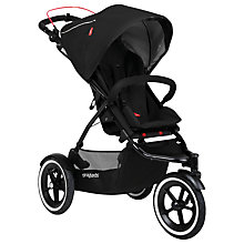 Buy Phil & Teds Sport 2 Pushchair with Free Double Kit, Black Online at johnlewis.com
