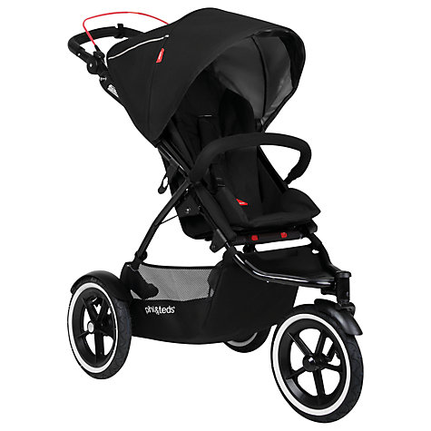 Buy Phil & Teds Navigator 2 Pushchair, Black Online at johnlewis.com