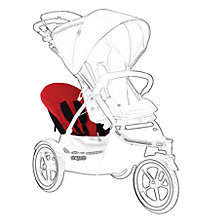 Buy Phil & Teds Navigator 2 Double Kit, Red Online at johnlewis.com