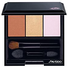 Buy Shiseido Luminizing Satin Eye Colour Trio Palette Online at johnlewis.com