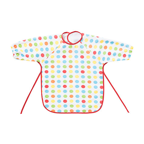 Buy John Lewis Rainbow Terry Baby Bibs, Pack of 2 Online at johnlewis.com