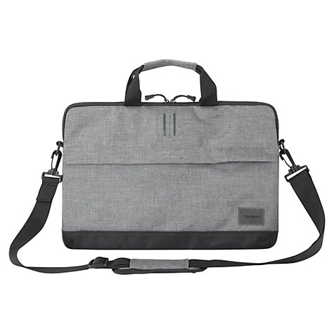 "Buy Targus Strata Slipcase for 15.6"" Laptops, Grey Online at johnlewis.com"