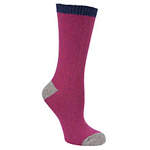 Buy John Lewis Wool & Silk Mix Ankle Socks Online at johnlewis.com