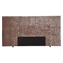 Buy John Lewis Mayfair Headboard, Super Kingsize, Mushroom Online at johnlewis.com