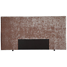 Buy John Lewis Mayfair Headboard, Double, Mushroom Online at johnlewis.com