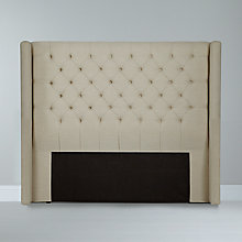 Buy John Lewis Balmoral Headboard, Kingsize, Parchment Online at johnlewis.com