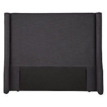 Buy John Lewis Oxford Headboard, Super Kingsize, Chocolate Online at johnlewis.com