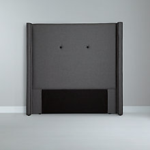 Buy John Lewis Grosvenor Headboard, Kingsize, Mercury Online at johnlewis.com