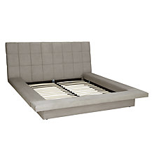 Buy John Lewis Trafalgar Bedstead, Double, Dove Grey Online at johnlewis.com