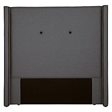Buy John Lewis Grosvenor Headboard, Double, Mercury Online at johnlewis.com