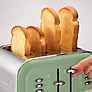 Buy Morphy Richards 242001 Accents 4-Slice Toaster, Sage Green Online at johnlewis.com