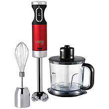 Buy Morphy Richards 402010 Hand Blender Set, Red Online at johnlewis.com
