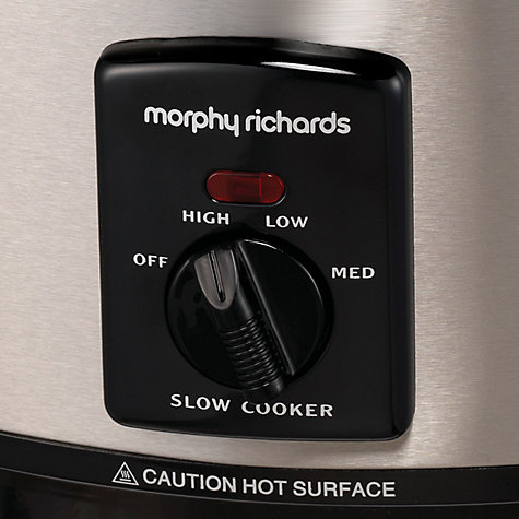 Buy Morphy Richards 48705 Sear and Stew Slow Cooker, Brushed Steel Online at johnlewis.com