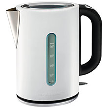 Buy Morphy Richards Elipta Kettle and 2-Slice Toaster, White Online at johnlewis.com