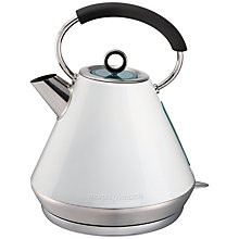Buy Morphy Richards Elipta Traditional Kettle and 2-Slice Toaster, White Online at johnlewis.com