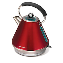 Buy Morphy Richards Traditional Elipta Kettle, Red Online at johnlewis.com