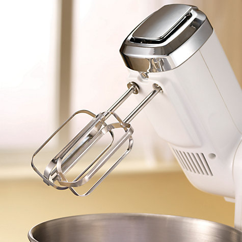 Buy Morphy Richards 48992 Folding Stand Mixer, White Online at johnlewis.com
