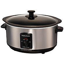 Buy Morphy Richards 48701 Sear and Stew Slow Cooker, Brushed Steel Online at johnlewis.com