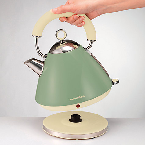 Buy Morphy Richards 102001 Accents Kettle, Sage Green Online at johnlewis.com