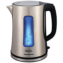 Buy Morphy Richards 43960 Accents Brita Filter Kettle, Brushed Steel Online at johnlewis.com
