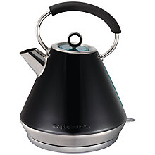 Buy Morphy Richards Elipta Traditional Kettle and 2-Slice Toaster, Black Online at johnlewis.com