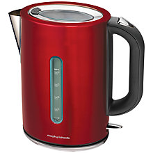 Buy Morphy Richards Elipta Kettle and 2-Slice Toaster, Red Online at johnlewis.com