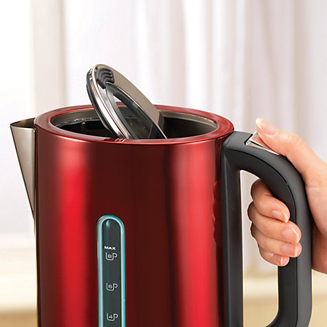 Buy Morphy Richards 102751 Elipta Kettle, Red Online at johnlewis.com