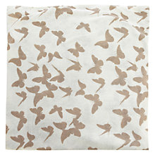 Buy Warehouse Butterfly Print Snood, Cream Online at johnlewis.com