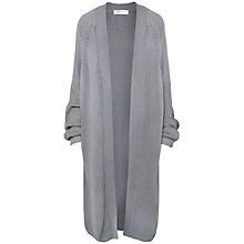 Buy Paisie Knee-Length Cardigan, Grey Online at johnlewis.com