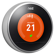Buy Nest Learning Thermostat, 2nd Generation Online at johnlewis.com