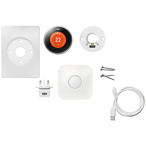 Buy Nest Learning Thermostat Online at johnlewis.com