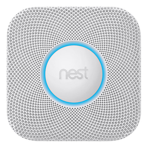 Buy Nest Protect, Smoke Alarm + Carbon Monoxide Detector, Wired Online at johnlewis.com