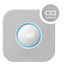 Buy Nest Protect, Smoke Alarm + Carbon Monoxide Detector, Battery Powered Online at johnlewis.com